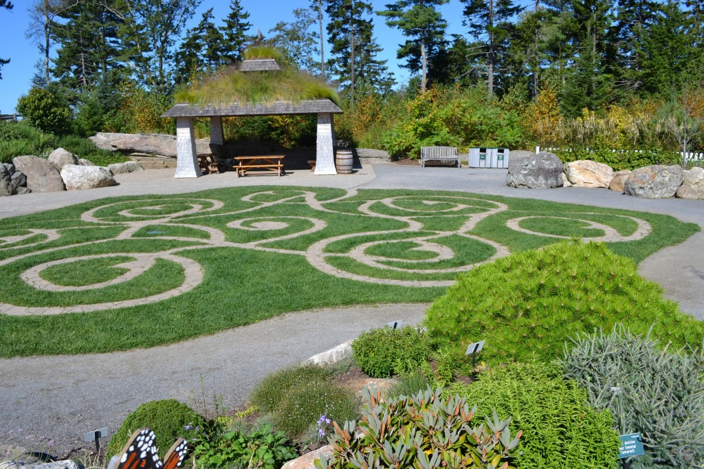 Botanical Gardens Me Coastal Me Botanical Gardens Spruce Point Inn Resort Spa Garden Picture