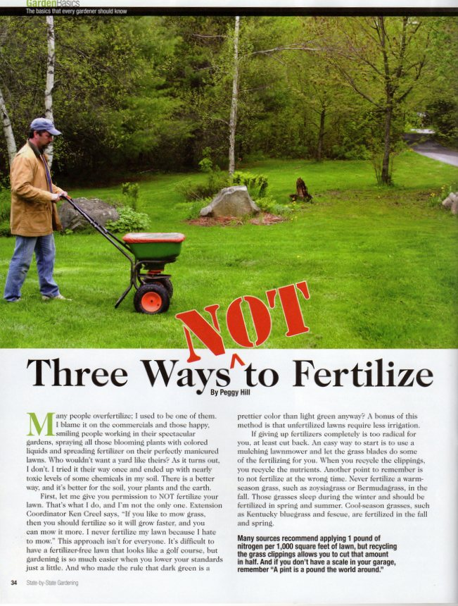 How to fertilize