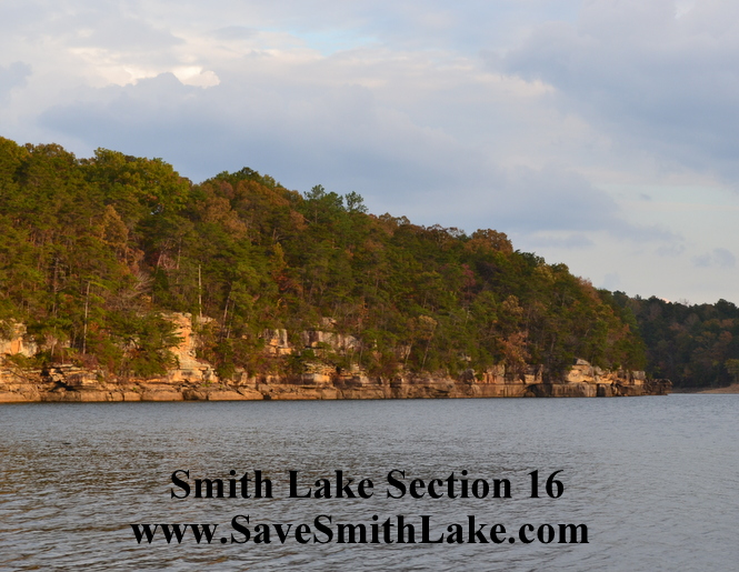Smith Lake, Ryan Creek, Section 16