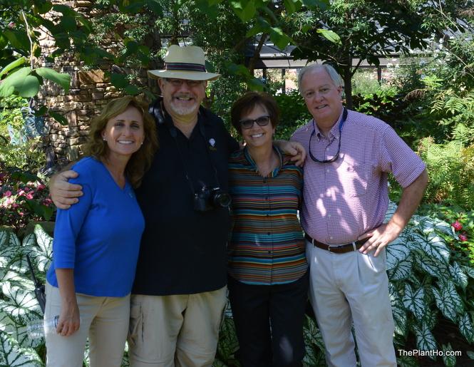 From left to right is Niki, Dan, Paula and Harvey.
